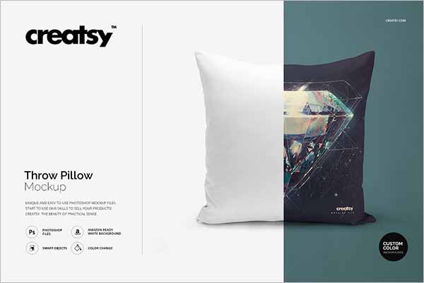 Best Pillow Mockup Template
