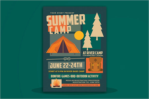 Best Summer Camp Flyer Templates