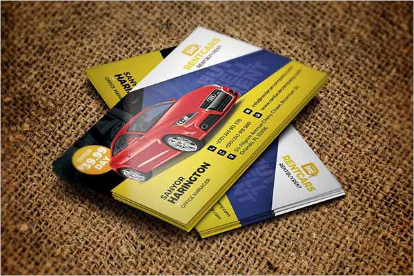 Best Taxi Business Card Templates