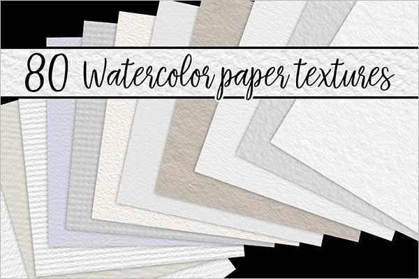 Best Watercolor Paper Texture Design