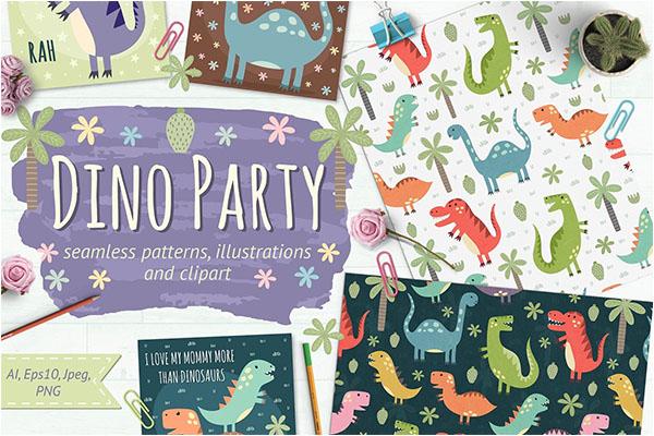 Birthday Party Background Illustration