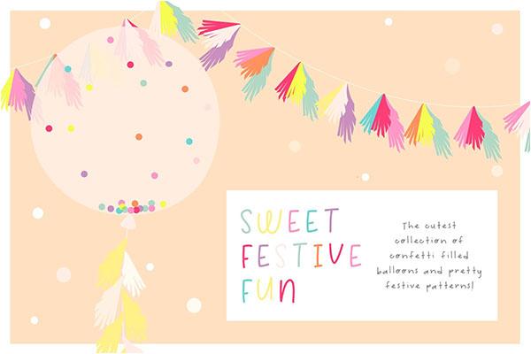 Birthday Party Invite Illustrations