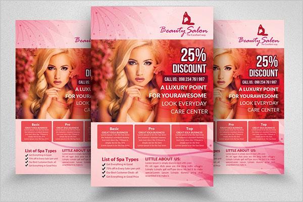 Brand Beauty Salon Flyers