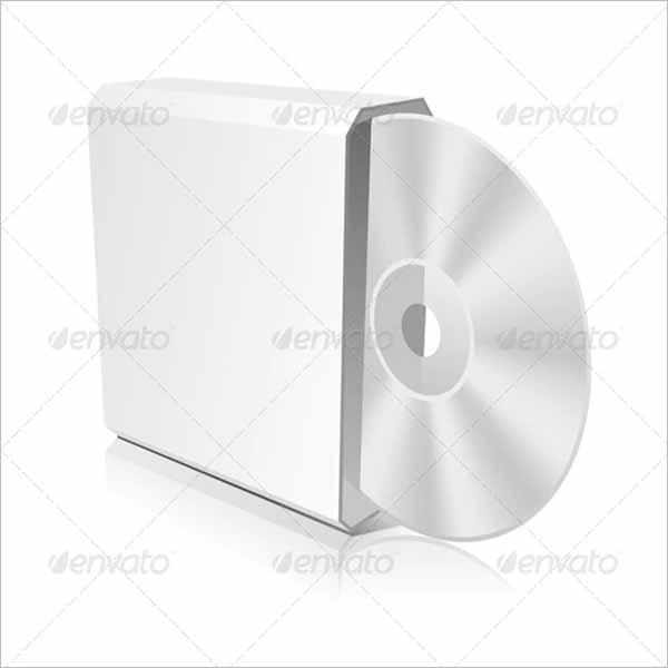 CD Box Template