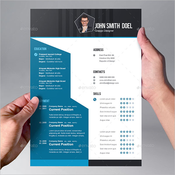 CV Template For Student