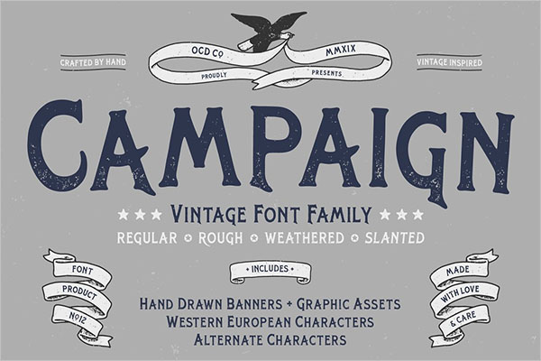 Campaign Family Poster Templates