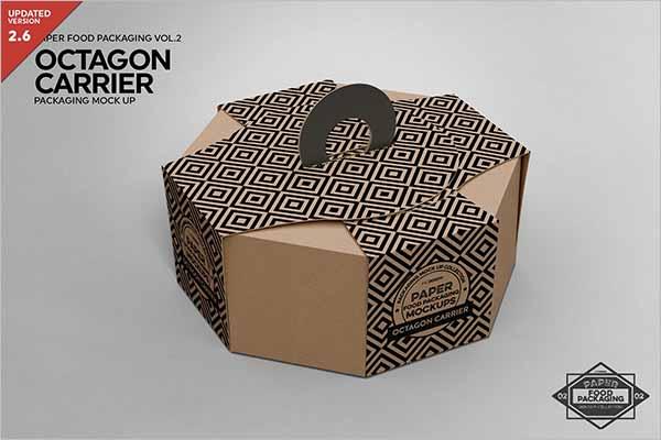 Carrier Box Packaging Design