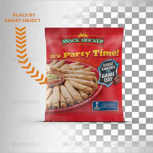 Chips Bag Mockup Bundle