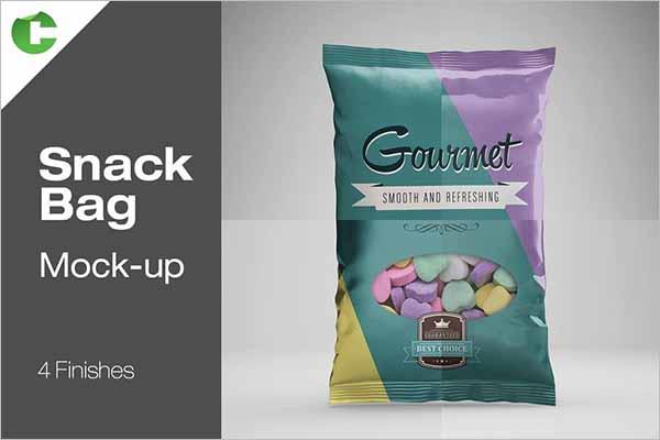 Chips Mockup Bag Design