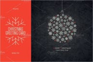 Christmas & New Year Greeting Card Template
