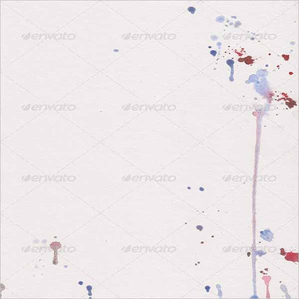 Color Splash Paper Texture Design