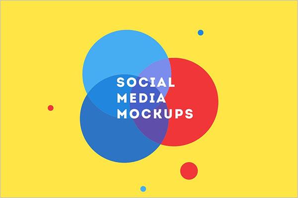 Creates Social Media Mockups