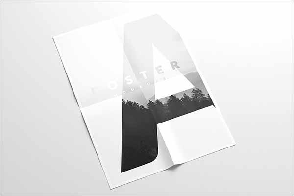Creative A4 Flyer Mockup