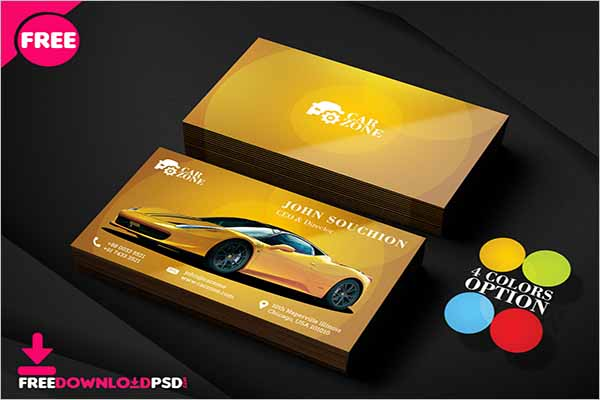 Creative Auto Repair Business Card Designs