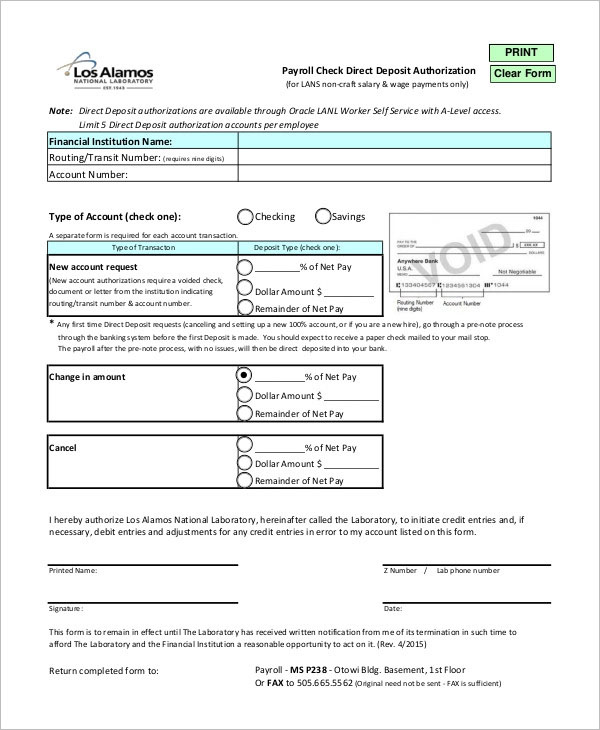 Creative Blank Check Templates