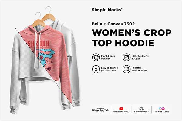 Creative Hoodie Mockups PSD Download