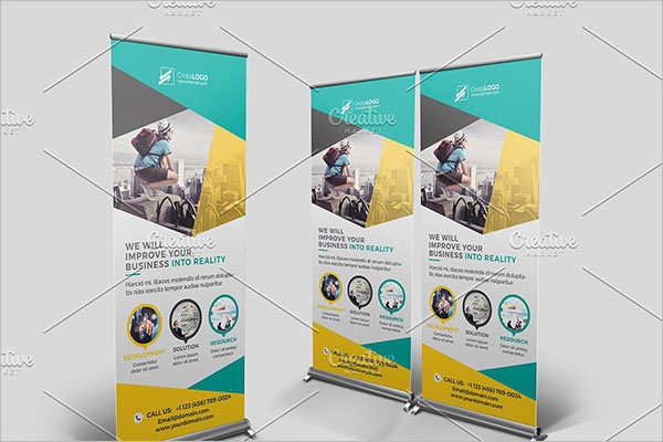 Creative Roll Up Banners