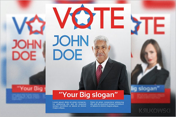 Election Poster Background