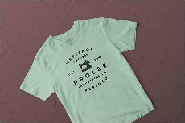 Fashion & T-Shirt PSD Mockup Template