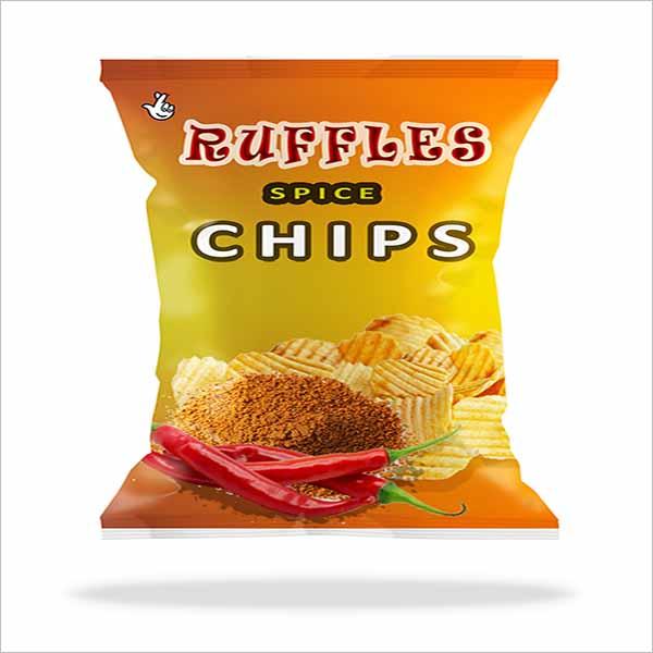 Free PSD Chips Bag Mockup Design