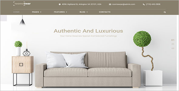 Furniture Elementor WordPress Theme