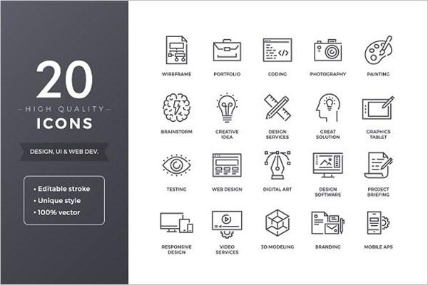 Graphic App Icon Designs