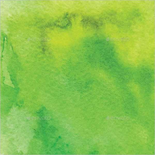 Green Watercolor Paper Texture Design