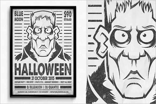 Halloween Wanted Poster Templates