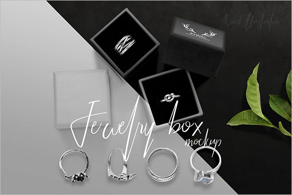 Jewelry Mockup Design Template