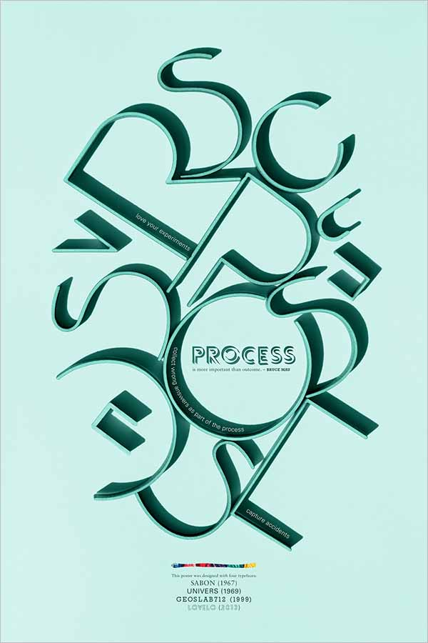 Latest Typography Poster Designs