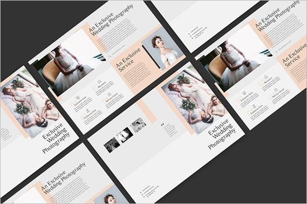 Latest Wedding Photography Brochure