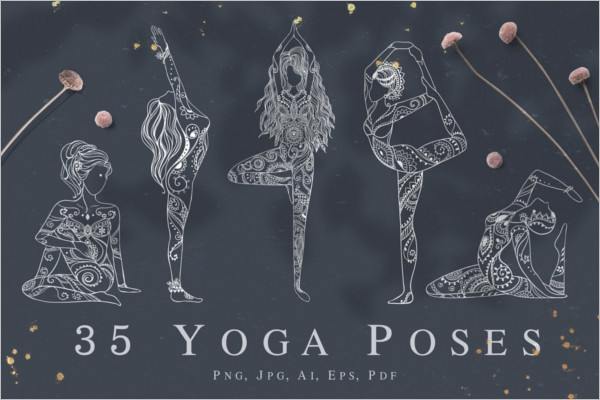 Latest Yoga Poster Design