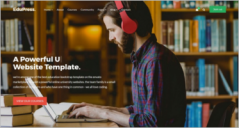 Library Website Themes
