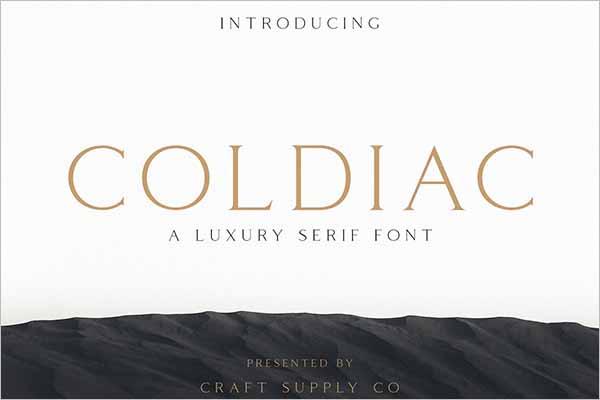 Luxury Fancy Font Design