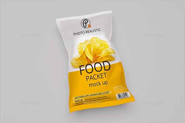 Mockup Design ForChips Bag