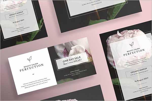 Modern Beauty Salon Flyer Designs