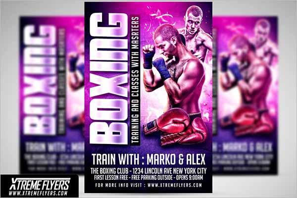 Modern Boxing Flyer Designs