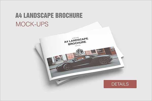 Modern Brochure Mockup Templates