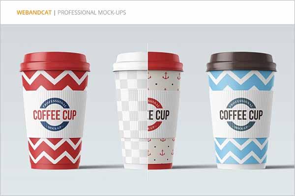 Modern Coffee Cup Mockup Designs