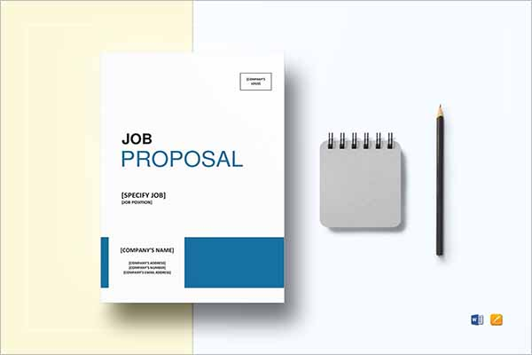 20 Job Proposal Templates Free Word Doc Excel Document
