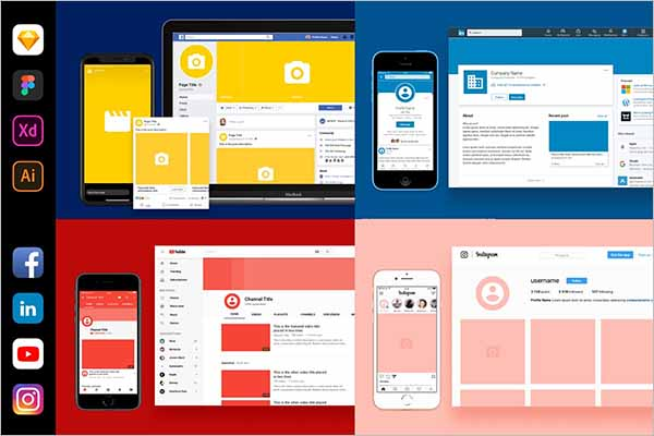 Modern Social Media Branding Kit