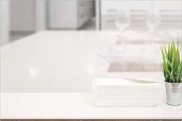 Modern Tissue Paper Mockup
