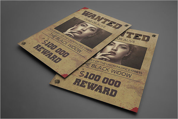 Modern Wanted Poster Templates
