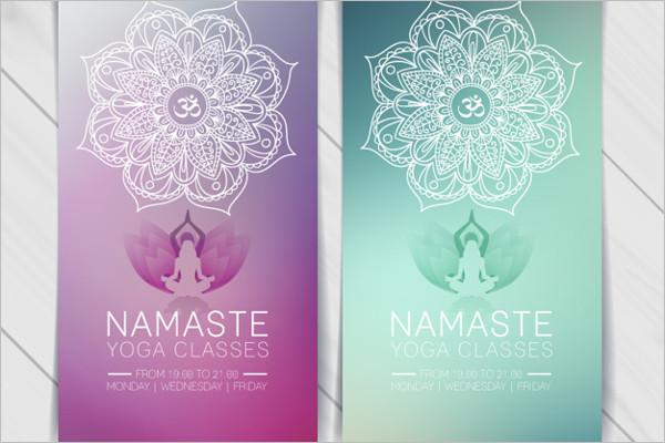 New Yoga Poster Design