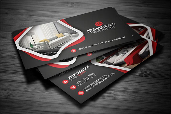 Photography Interior Design Business Card