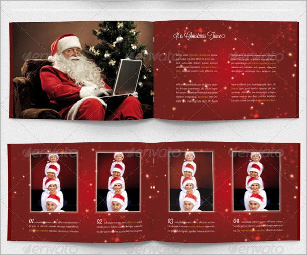 Printable Christmas Card Template