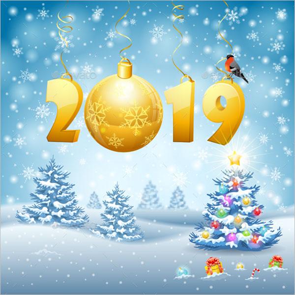 Printable New Year Brochures Template