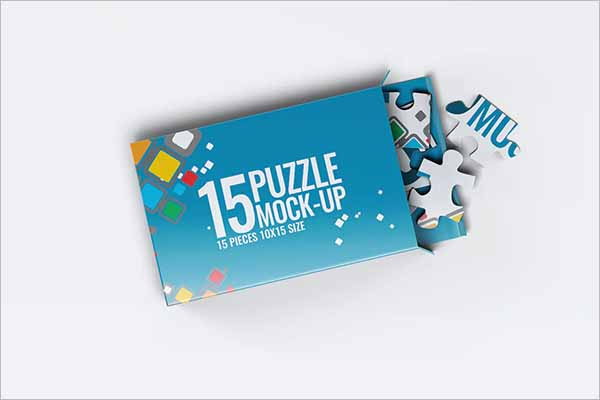 Puzzles Box Template