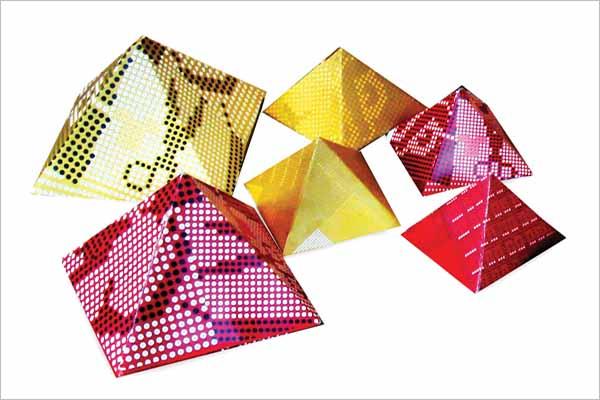 Pyramid Shape Box Design Download