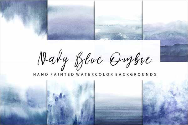 Realistic Watercolor Texture Design